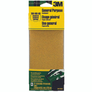 3M 9019 Sand Blaster Aluminum Oxide Sandpaper Sheets, Assorted Grit, 3-2/3 Inch By 9 Inch, 6 Pack