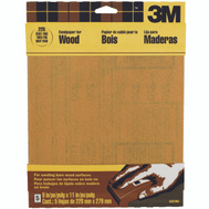 3M 9035 Sandpaper Sheets, 220 Grit, 9 Inch By 11 Inch, 5 Pack