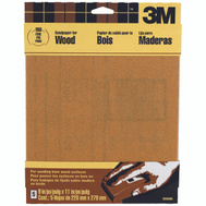 3M 9036 Sandpaper Sheets, 150 Grit, 9 Inch By 11 Inch, 5 Pack