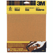 3M 9037 Sandpaper Sheets, 100 Grit, 9 Inch By 11 Inch, 5 Pack