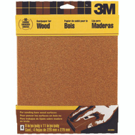 3M 9038NA Sandpaper Sheets, 60 Grit, 9 Inch By 11 Inch, 4 Pack