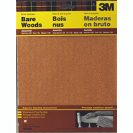 3M 9040 Sandpaper Sheets, Assorted Grit, 9 Inch By 11 Inch, 5 Pack
