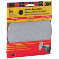 3M 9182 6 Inch Adhesive Backed Sanding Discs Fine Grit 5 Pack