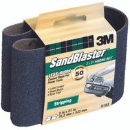 3M 9193 Sand Blaster 3 By 21 Inch Regalite Mineral Power Sanding Belt 50 Grit Coarse