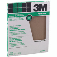 3M 88590 Aluminum Oxide Sandpaper Paint And Rust Removal 9 By 11 Inch 180 Grit
