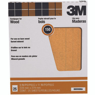3M 88595 Garnet Sandpaper Surface Preparation 9 By 11 Inch 150A Grit