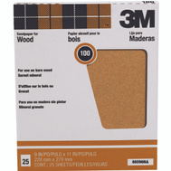3M 88596 Garnet Sandpaper Surface Preparation 9 By 11 Inch 100C Grit