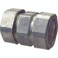 Halex 02212 1 1/4 Inch EMT Concrete Tight Compression Coupling Die Cast Zinc