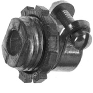 Halex 90420 3/8 Inch Flex Conduit Bx Squeeze Connector