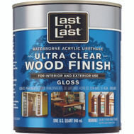Absolute Coatings 13004 Last-N-Last Ultra Clear Waterbourne Wood Finish Gloss Quart
