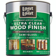 Absolute Coatings 14001 Last-N-Last Ultra Clear Waterbourne Wood Finish Semi Gloss Gallon
