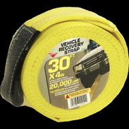 Keeper 02942 Strap Hvy Duty Recov 4Inx30ft