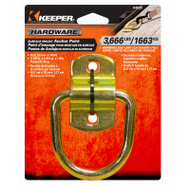Keeper 04529 3-3/8 Inch Surface Mount Wire Ring Anchor Points