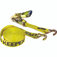 Keeper 04622 Tie Down With Double J Hooks 2 Inch By 27 Foot