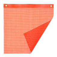 Keeper 04902 18 Inch By 18 Inch Mesh PVC Safety Flag