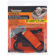 Keeper 05110 10 Foot Cam Buckle Tie Down
