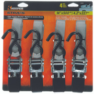 Keeper 05505 1 Inch By 14 Foot Ratchet Tie Downs Pack Of 4