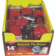 Keeper 05517 14 Foot Tie Down Ratchet