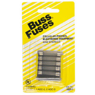 Cooper Bussmann HEF-1 Electronics Glass Tube Fuse Assortment For Stereos Radios Cell Phones