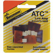 Cooper Bussmann BP/ATC-AL8-RP Low Amperage Automotive Blade Fuse 8 Piece ATC Assortment
