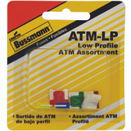 Cooper Bussmann BP/ATM-A6LP-RP Mini Low Profile ATM-6 Piece Blade Fuse Assortment