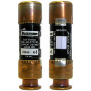 Cooper Bussmann BP/FRN-R-20ID Easy ID Dual Element Time Delay Cartridge Fuses With Indicator 20 Amp 2 Pack