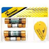 Cooper Bussmann NON-EK General Purpose NON One Time Cartridge Fuse Emergency 6 Piece Kit With Tester