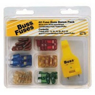 Cooper Bussmann NO.44 Automotive Blade Fuse Kit Number 44 ATC 43 Pieces
