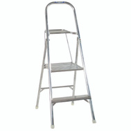 Werner 264 4 1/2 Foot Aluminum Ladder With Platform