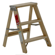Michigan Ladder 1100-02 2 Foot Household Wood Step Ladder