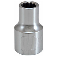Apex Tool Group 36097 Master Mechanic 1/2 Inch 10Mm 12 Point Metric Shallow Socket