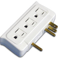 Master Electrician CT-010 ME 6Out WHT Side Tap