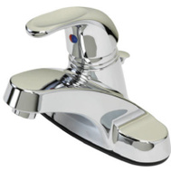 Homewerks Worldwide Llc-Import 116857 BayPointe Chrome Lever Faucet With Pop Up