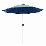 Four Seasons ATAF908117-F52 Fs 9 Foot Blu Alu Umbrella