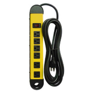 KAB PS-678 Master Electrician 6 Outlet Metal Power Strip