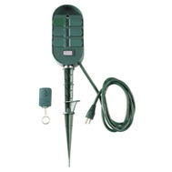KAB SP-041 Master Electrician Master Electrician Green 6 Outlet Stake