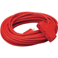 PHW Genting 04218ME Master Electrician 50 Foot 14/3 Red Extension Cord