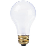 Globe Electric 70859 WestPointe 75 Watt Frosted Rough Service Standard Bulb