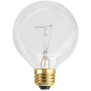 Globe Electric 70877 WestPointe 40 Watt Clear G25 Bulb