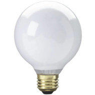 Globe Electric 70879 WestPointe 25 Watt White G25 Bulb