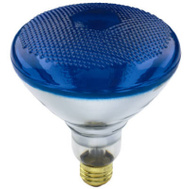 Globe Electric 70892 WestPointe 100 Watt Br 38 Blue Flood Bulb