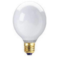 Globe Electric 70920 WestPointe 40 Watt G25 White Bulb