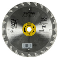 Master Mechanic 694374 7-1/4 Inch 24 Tooth Circular Saw Blade