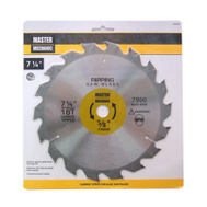 Master Mechanic 694396 7-1/4 Inch 18 Tooth Circular Saw Blade