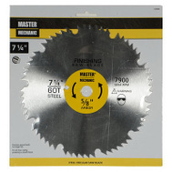 Master Mechanic 155408 7-1/4 Inch 60 Tooth Combination Blade