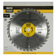 Master Mechanic 440867 7-1/4 Inch 36 Tooth Circular Saw Blade