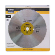 Master Mechanic 494948 7-1/4 Inch 140 Tooth Panel Blade