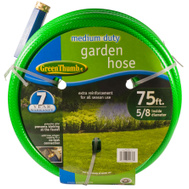 Teknor Apex 669133 Green Thumb 5/8 Inch By 75 Foot Nylon Medium Duty Garden Hose
