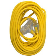 PHW Genting 04188ME Master Electrician 50 Foot 12/3 3 Outlet Extension Cord