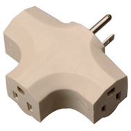 HWG Kintron 09902-97ME Master Electrician Beige Vinyl Ground Cube Tap